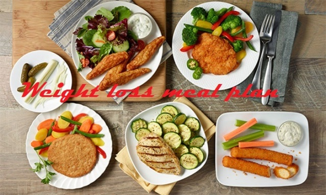 Weight loss Meal plan for 7 Days