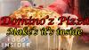 margherita pizza dominos